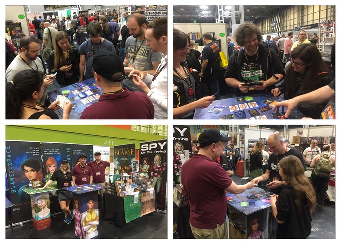 UK Games Expo 2018 with Sabrewolf Games